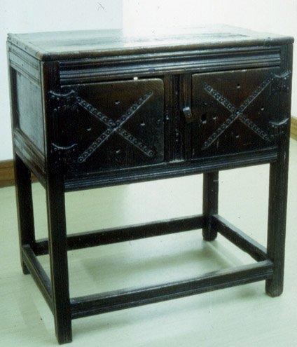 Oak livery cupboard