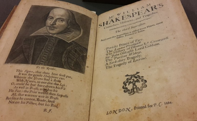 Shakespeare's Third Folio, 1664