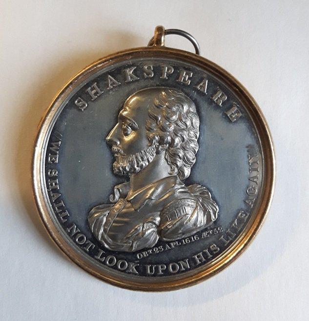 Shakespeare medal 1816