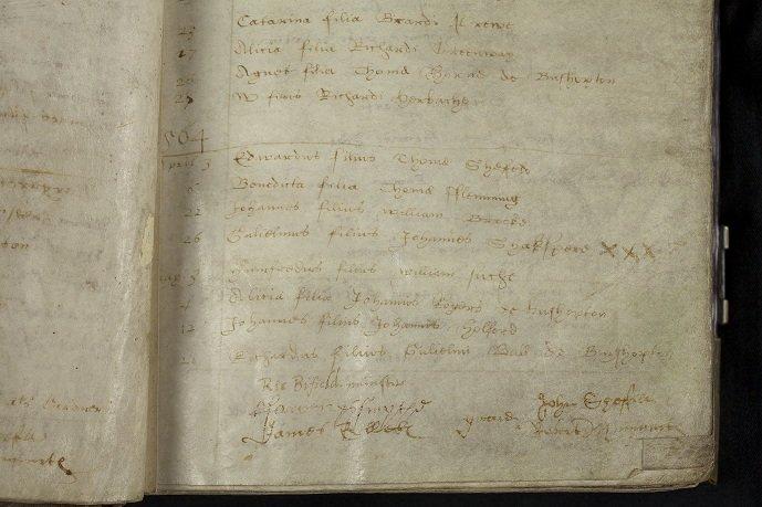 Parish Register, 1558-1653, Holy Trinity Church, Stratford-upon-Avon