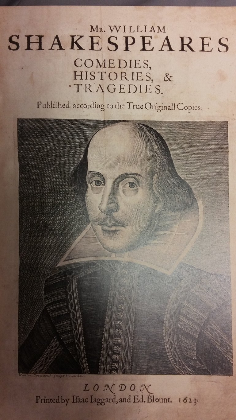 shakespeare collected plays