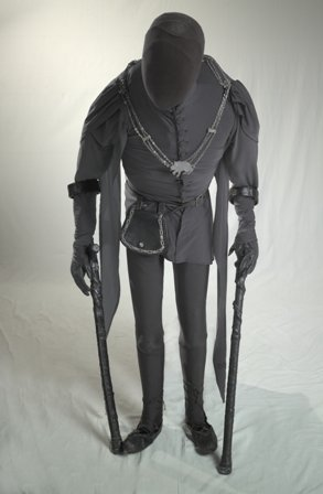Richard III costume designed by William Dudley and worn by Antony Sher, 1984.