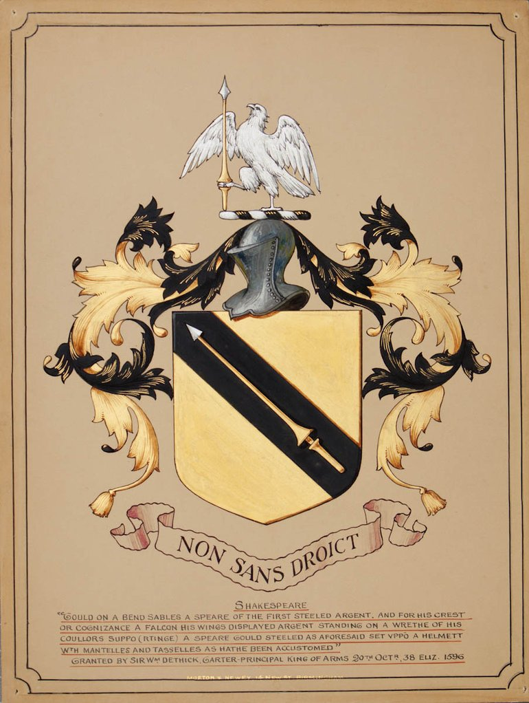 The Shakespeare Coat of Arms