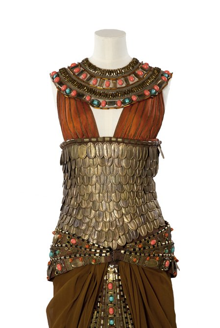 Costume worn by Janet Suzman as 'Cleopatra' in 1972, designed by Ann Curtis