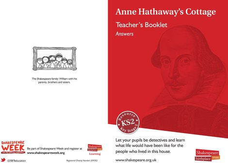 Anne Hathaway's Pupil Booklet Answers JPG