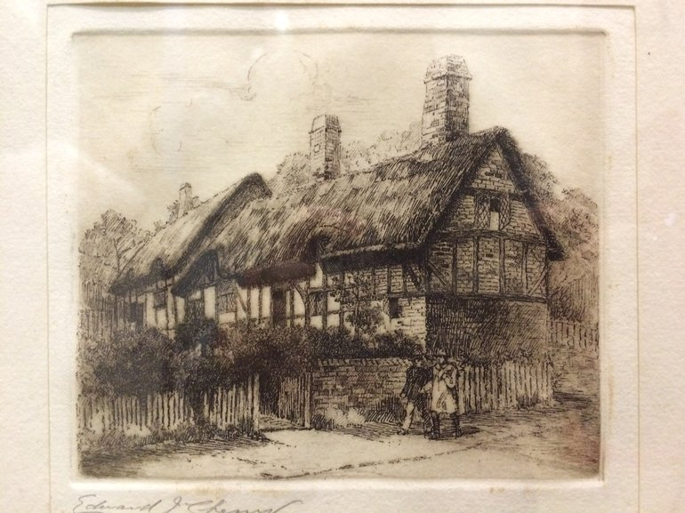 Anne Hathaway's Cottage Sketch