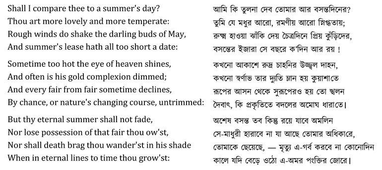 Sampling the sonnets-6