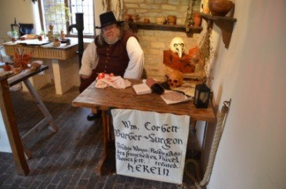 Barber Surgeon at MAF