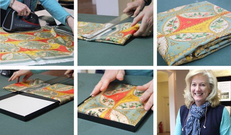 Meet the Maker: Beckford Silk folding