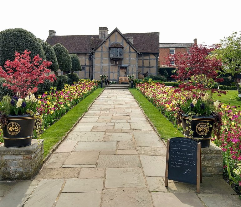 Spring Garden at Shakespeare's Birthplace