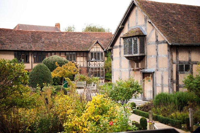 Birthplace Rear Garden