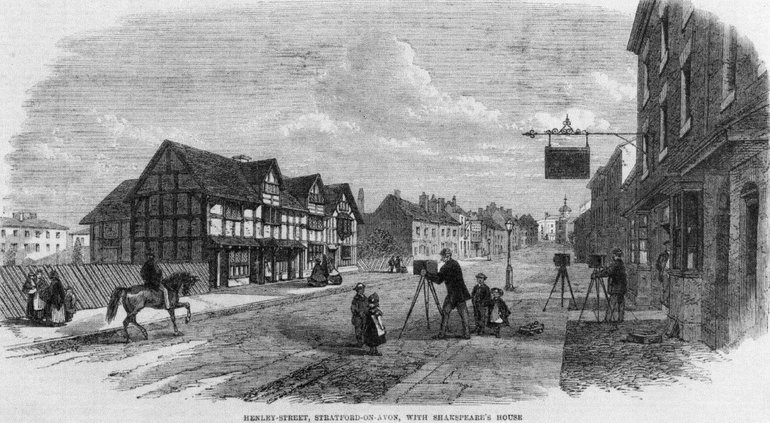 Birthplace from Henley Street