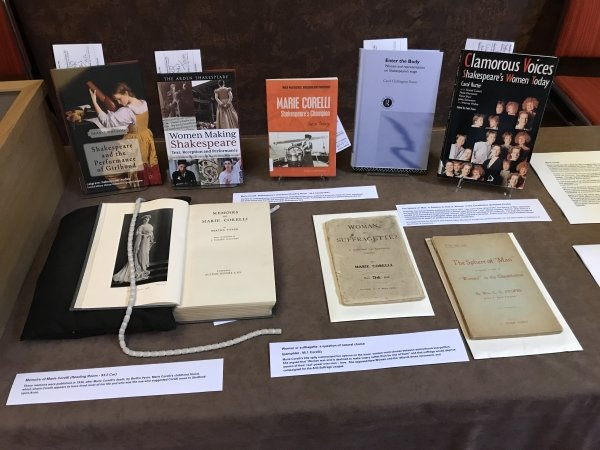 Book display suffrage display