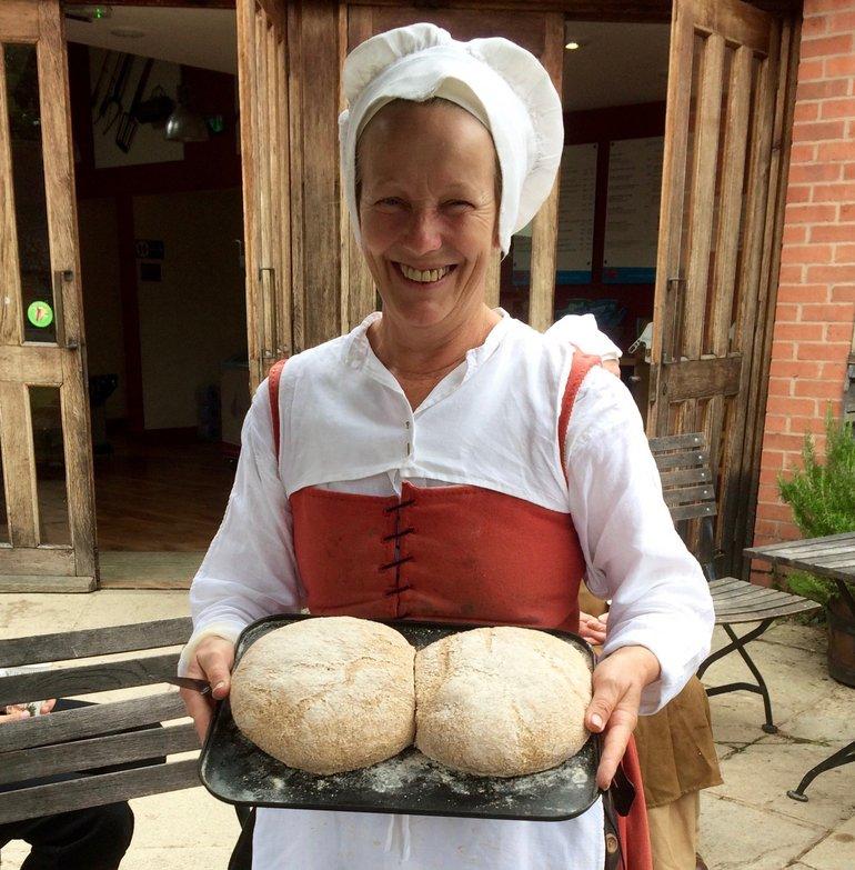 Bread at Mary Arden's Farm