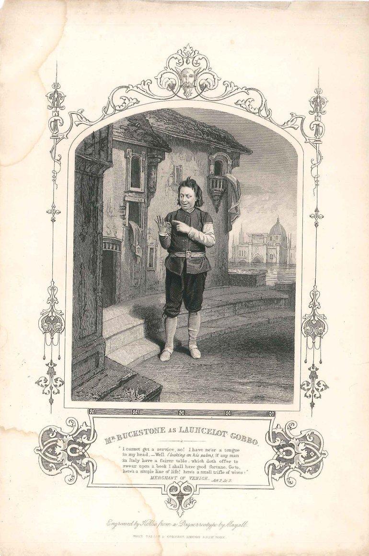 Buckstone Merchant of Venice