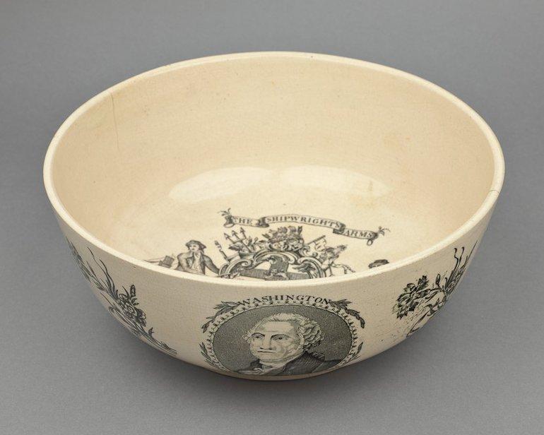 19th century ceramic bowl