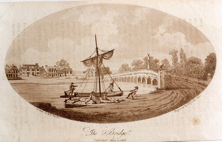 Clopton Bridge 1806