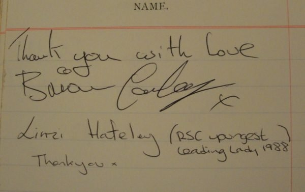 Conley and Hateley's Signatures