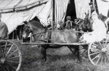 Circus winter quarters at Dover, New Hampshire