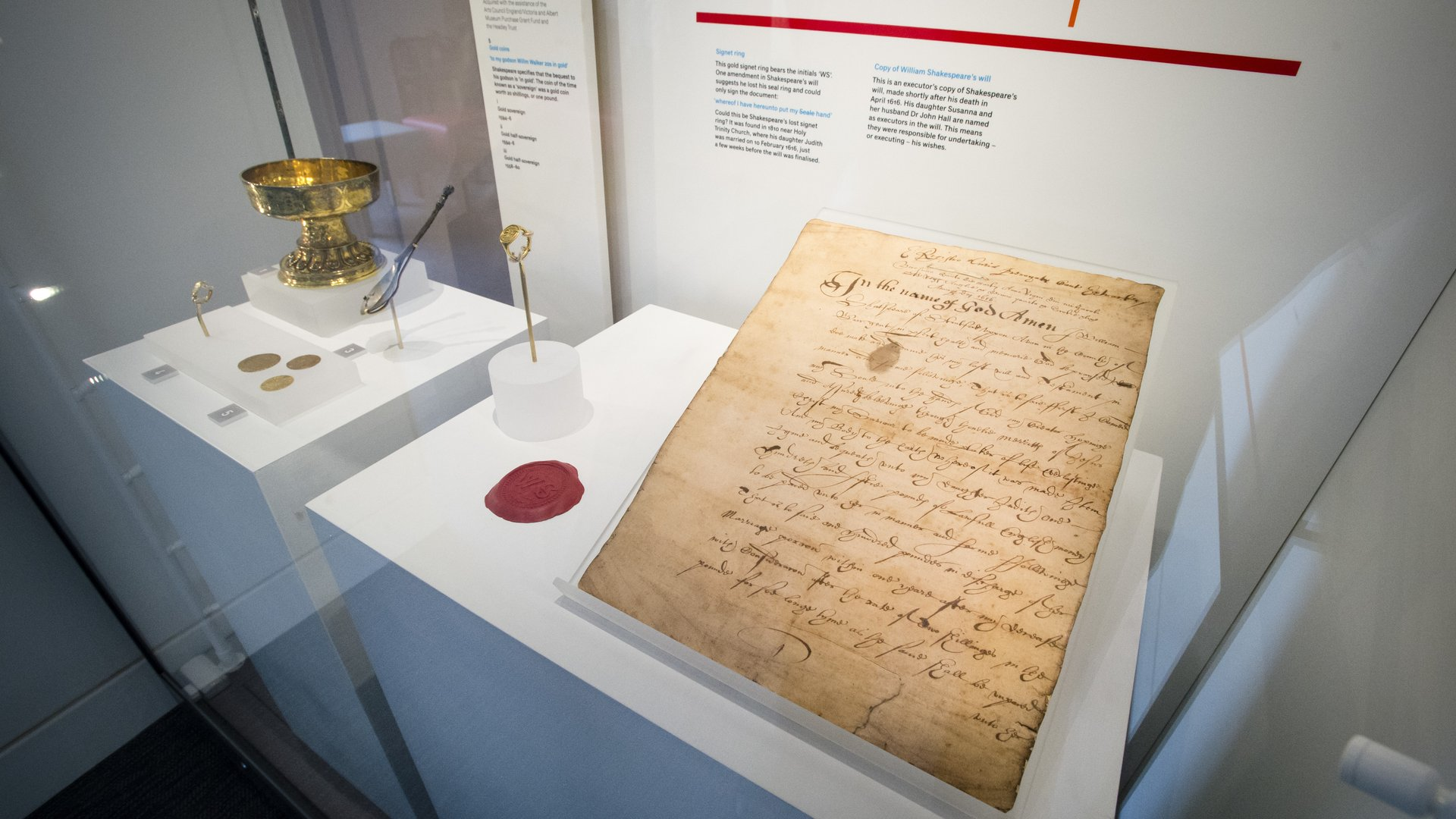 Copy of Shakespeare's Will