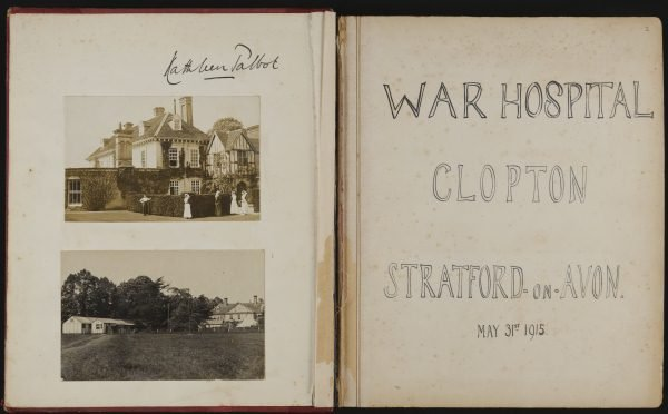 Talbot Clopton House scrapbook