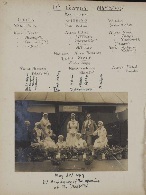 Hodgson in Talbot scrapbook