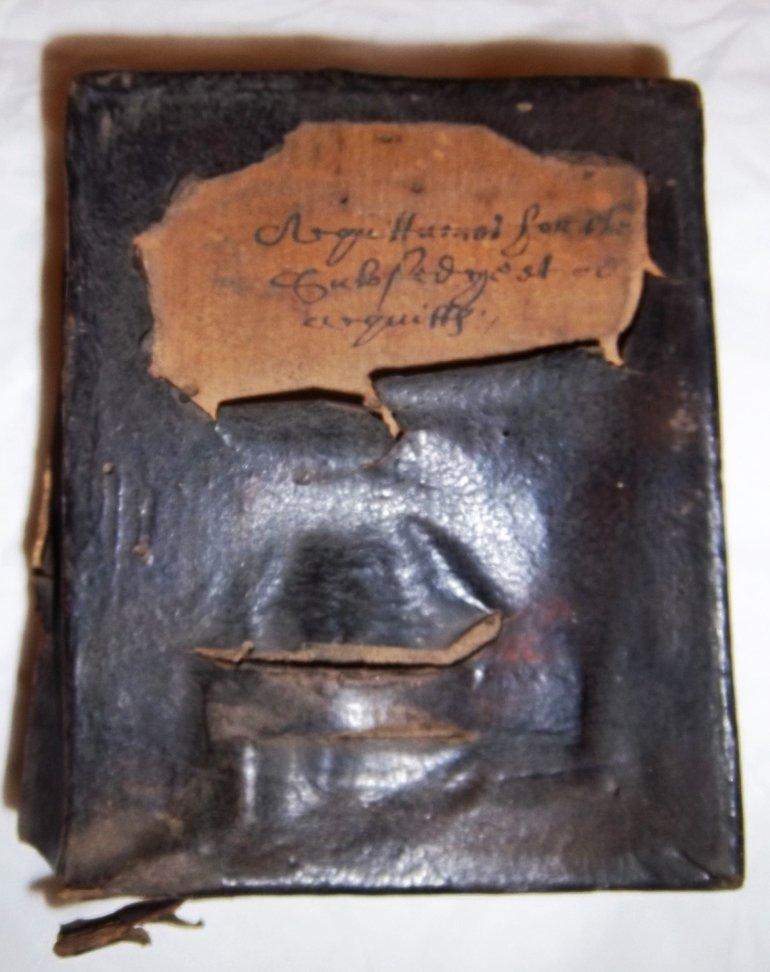 Deed box, 1577-1600