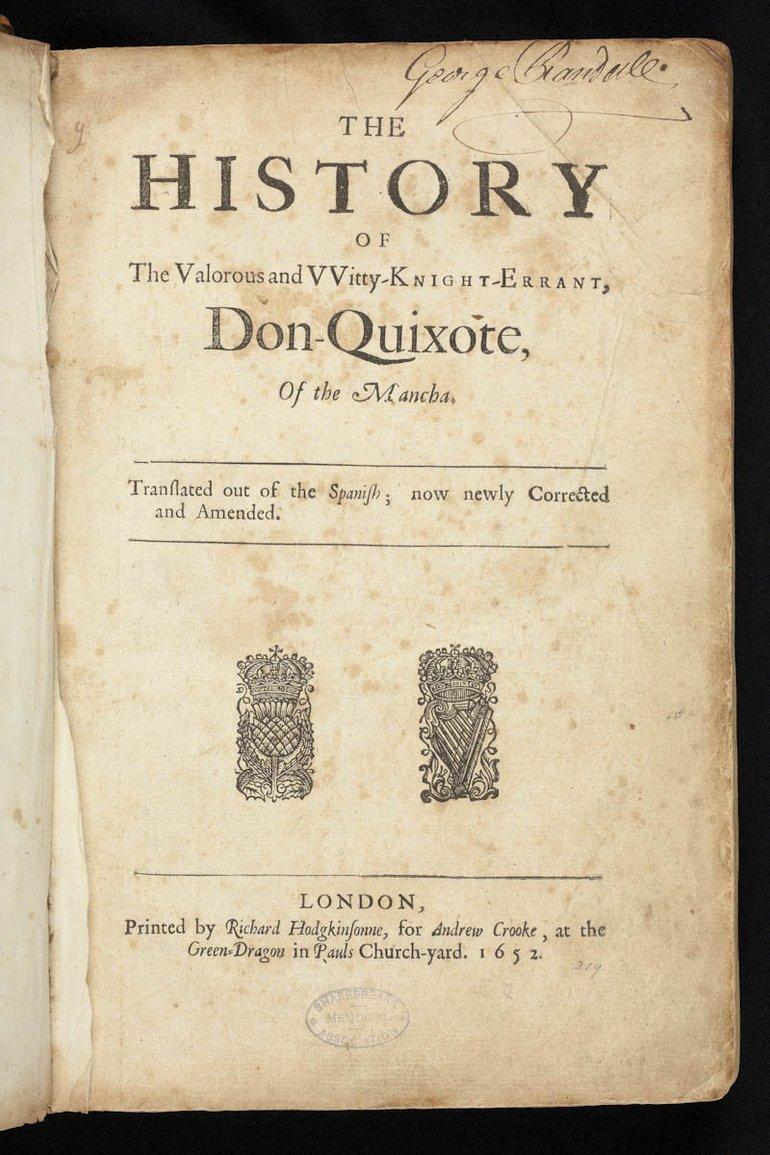 Don Quixote (1652)