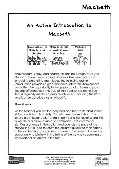 EFL An active introduction to Macbeth JGP