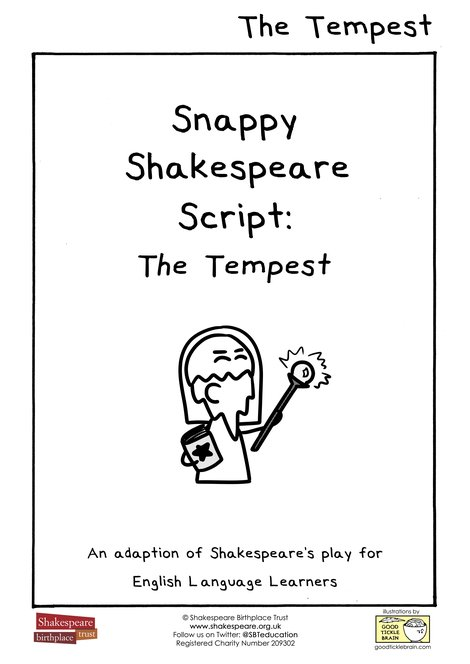 EFL Snappy Shakespeare Script: The Tempest Cover