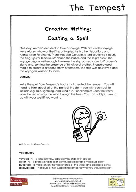 EFL Creative Writing: Casting A Spell