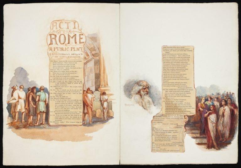 Act 1, Scene 1: 'Rome: A public place'