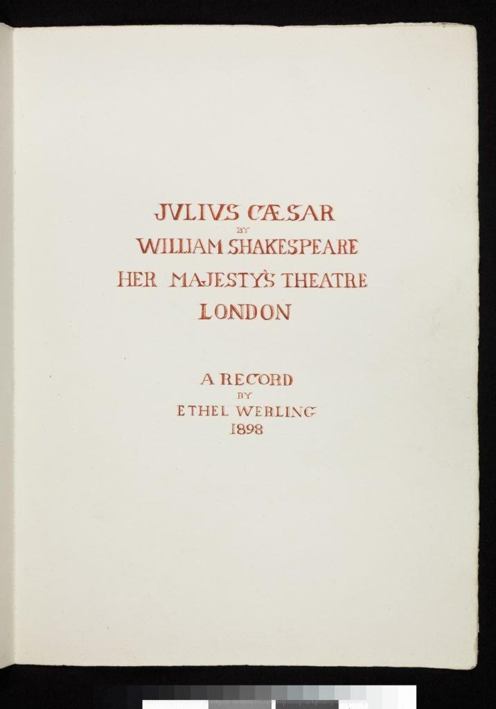julius caesar ethel webling