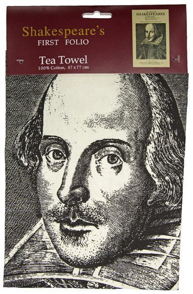 First Folio Tea Towel