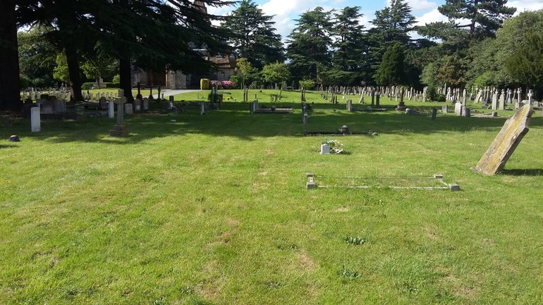 Area where workhouse inmates are believed to be buried