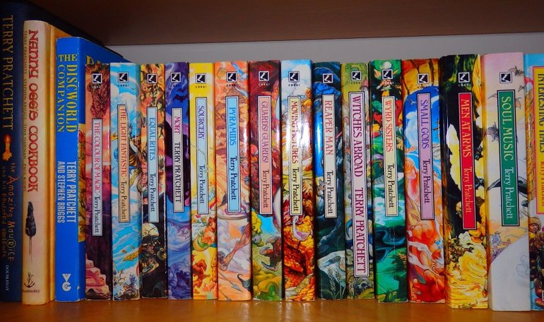 Discworld Novels Larger Size