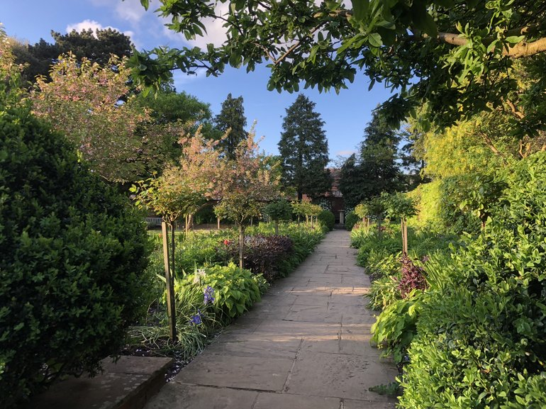 Hall's Croft Garden Walk 3 JPG