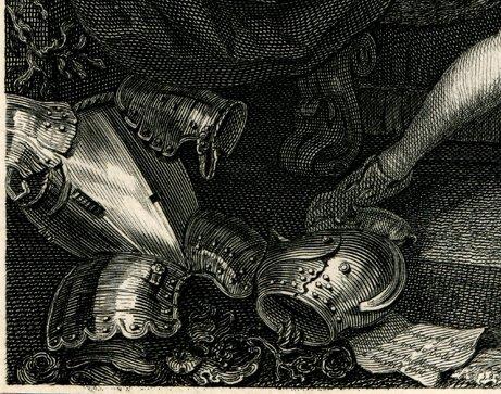 Garrick Richard III bottom left