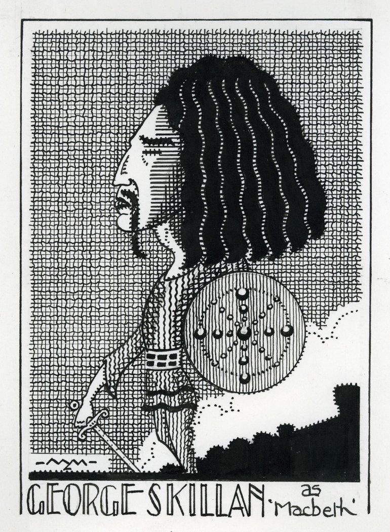 George Skillan as Macbeth 1920