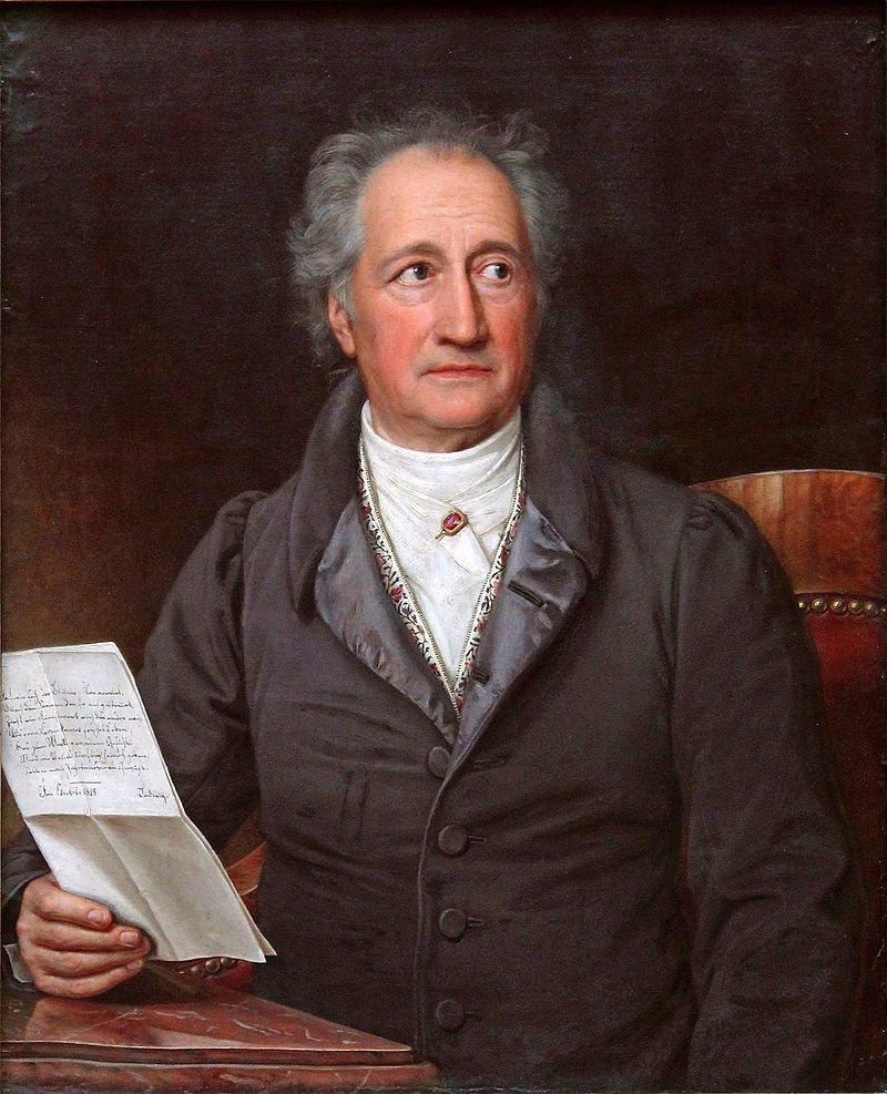 Happy Birthday Goethe