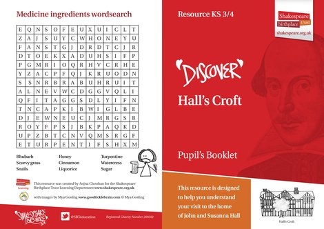 Hall's Croft Pupil Booklet JPG