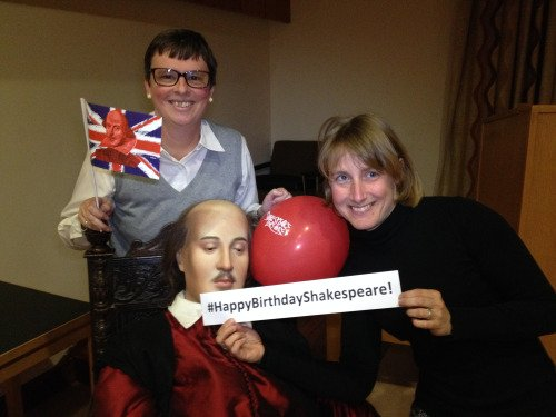 Happy Birthday to Shakespeare from the Birthplace Staff