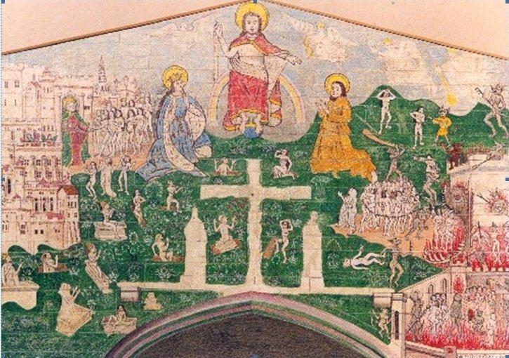 Doom painting, guild chapel