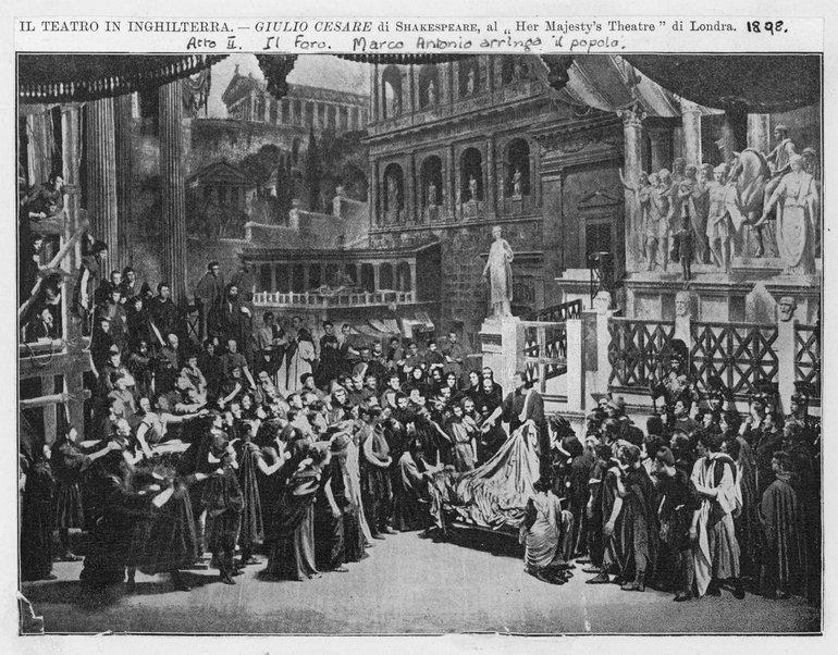 Julius Caesar at Her Majesty's Theatre, 1908