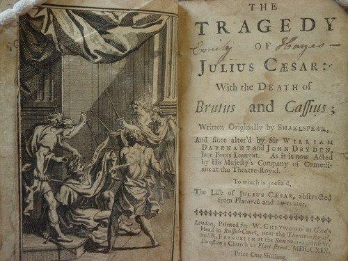 Julius Caesar rare edition