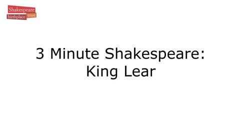 Video Summary: King Lear