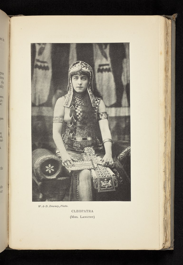 Lily Langtree as Cleopatra