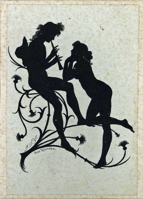 Fairy musicians from A Midsummer Night's Dream (illustration by Paul Konewka, 1868)