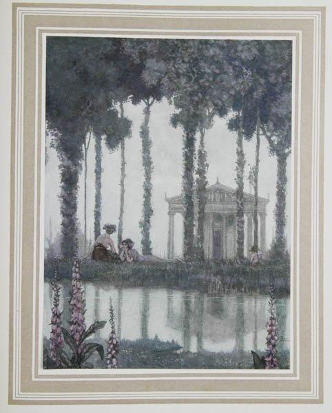 Heath Robinson illustration from 'A Midsummer Night's Dream' 1914