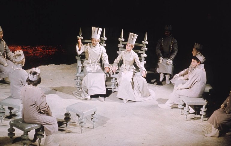 Royal Shakespeare Company, 1967 (featuring funny hats)